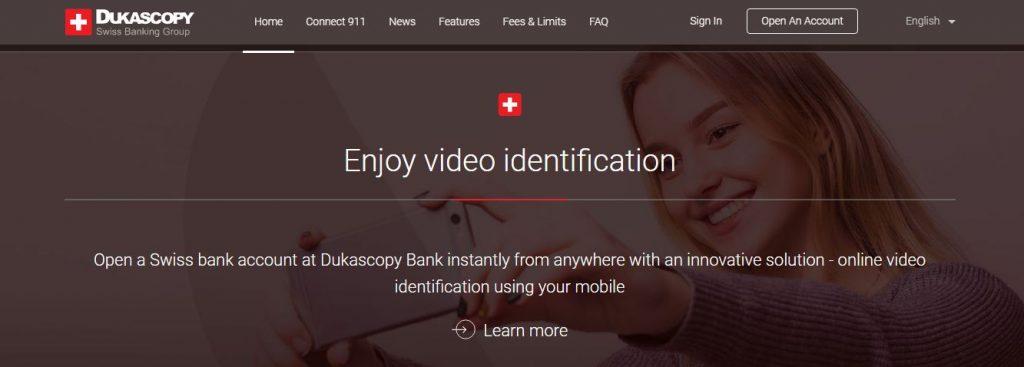 dukascopy non resident bank account EU