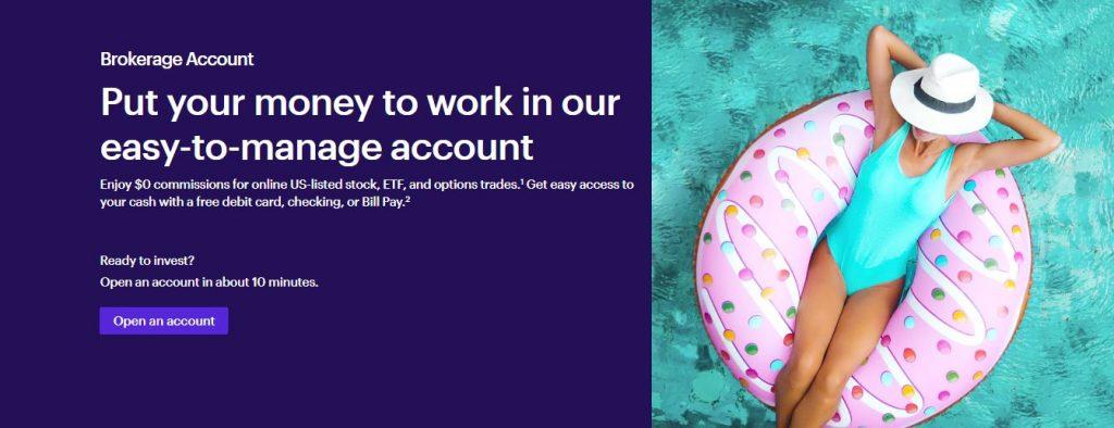 etrade online bank