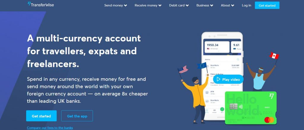 online bank account europe