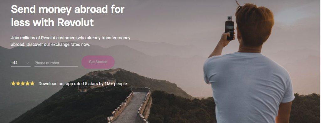 revolut virtual bank money transfer