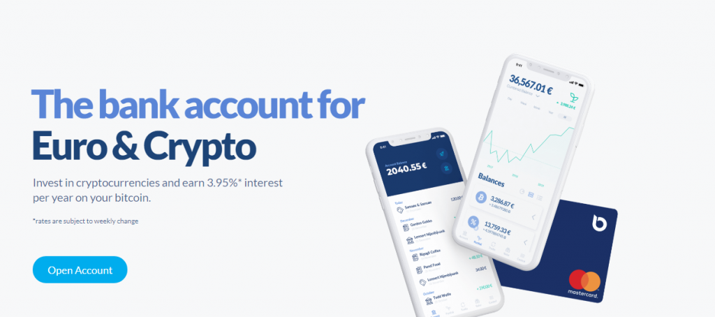bitcoin bank account