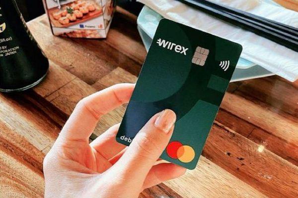 wirex virtual credit card