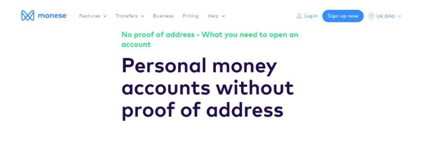 how to open bank account in the UK without proof of address