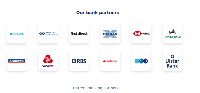 Currensea's banking partners