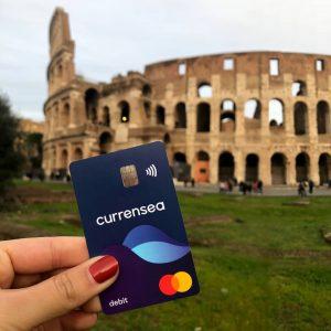 currensea travel debit card